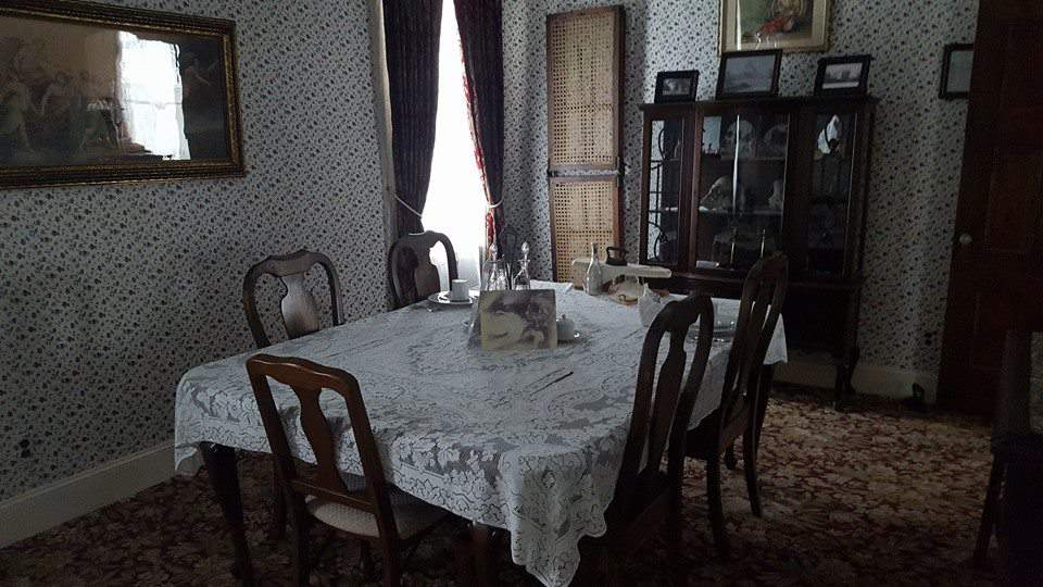 Lizzie Borden House: The dining room is said to have acted as the autopsy room.