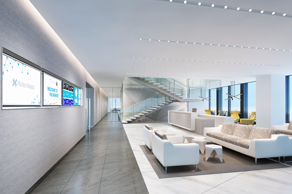 MarketAxess, Hudson Yards / Architectural Rendering