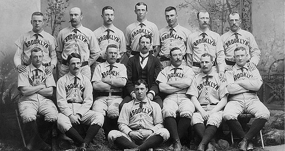 Brooklyn Baseball Team 1898
