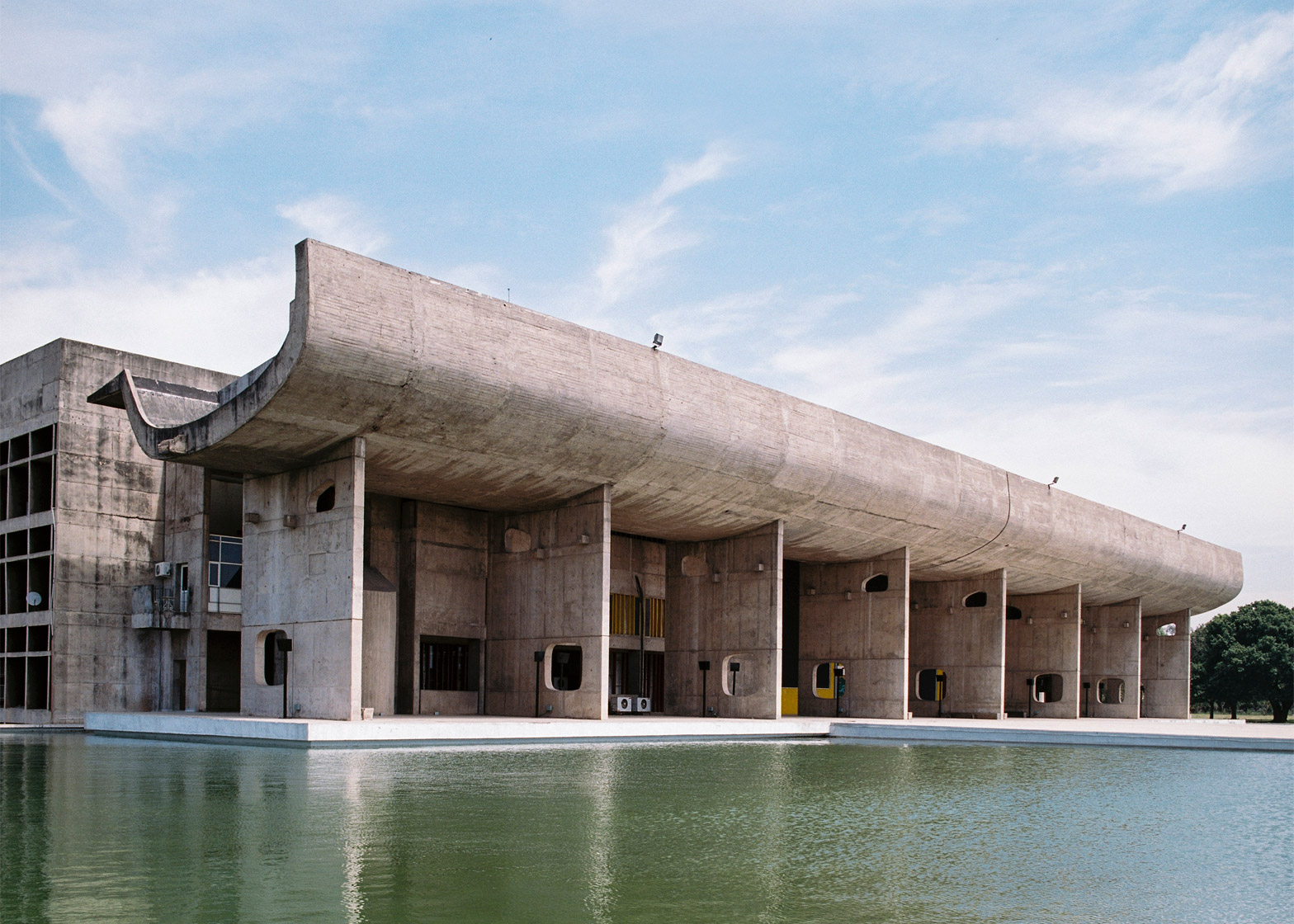 Le Corbusier's The Palace of Assembly