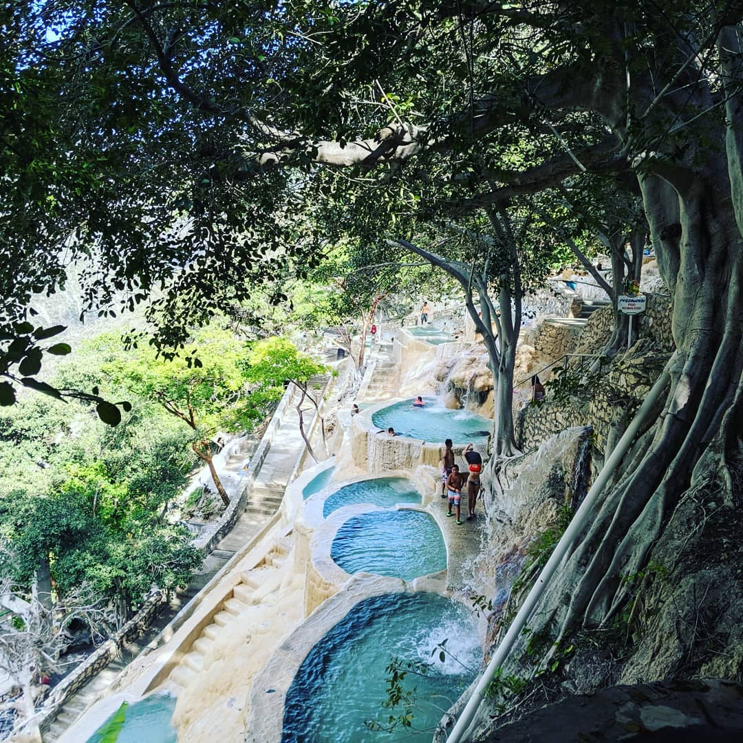 Grutas de Tolantongo is a gorgeous thermal water park located in Hidalgo.