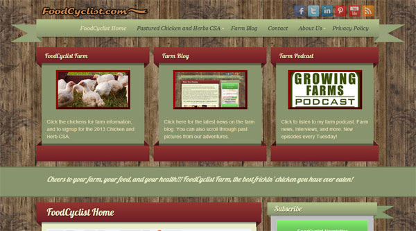 farm website foodcyclist