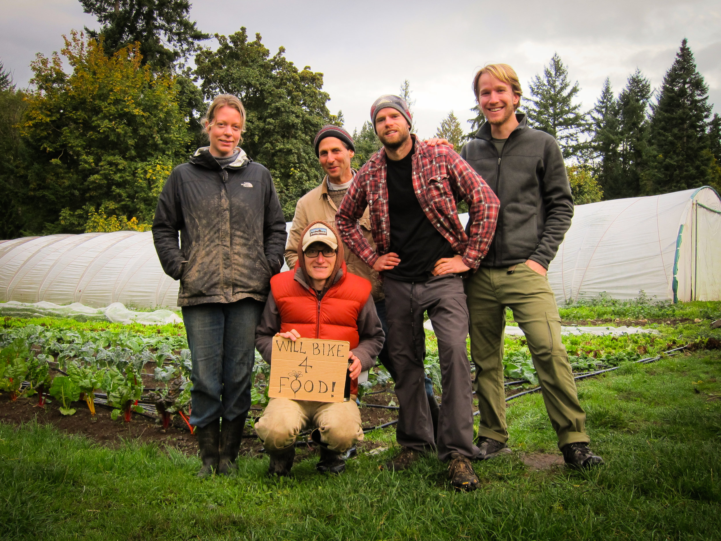 Farm crew at Foxglove Farm