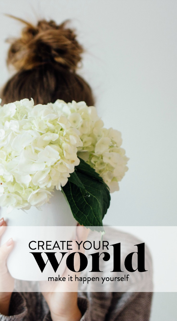 create your world - make it yourself - belong magazine blog