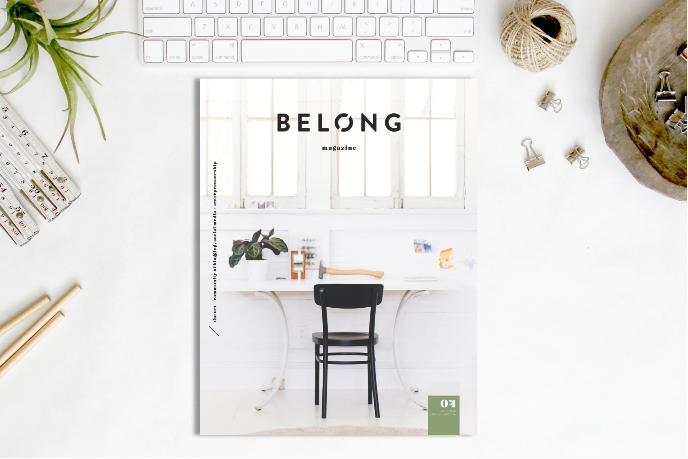 Belong Magazine ISSUE 04 Cover Reveal