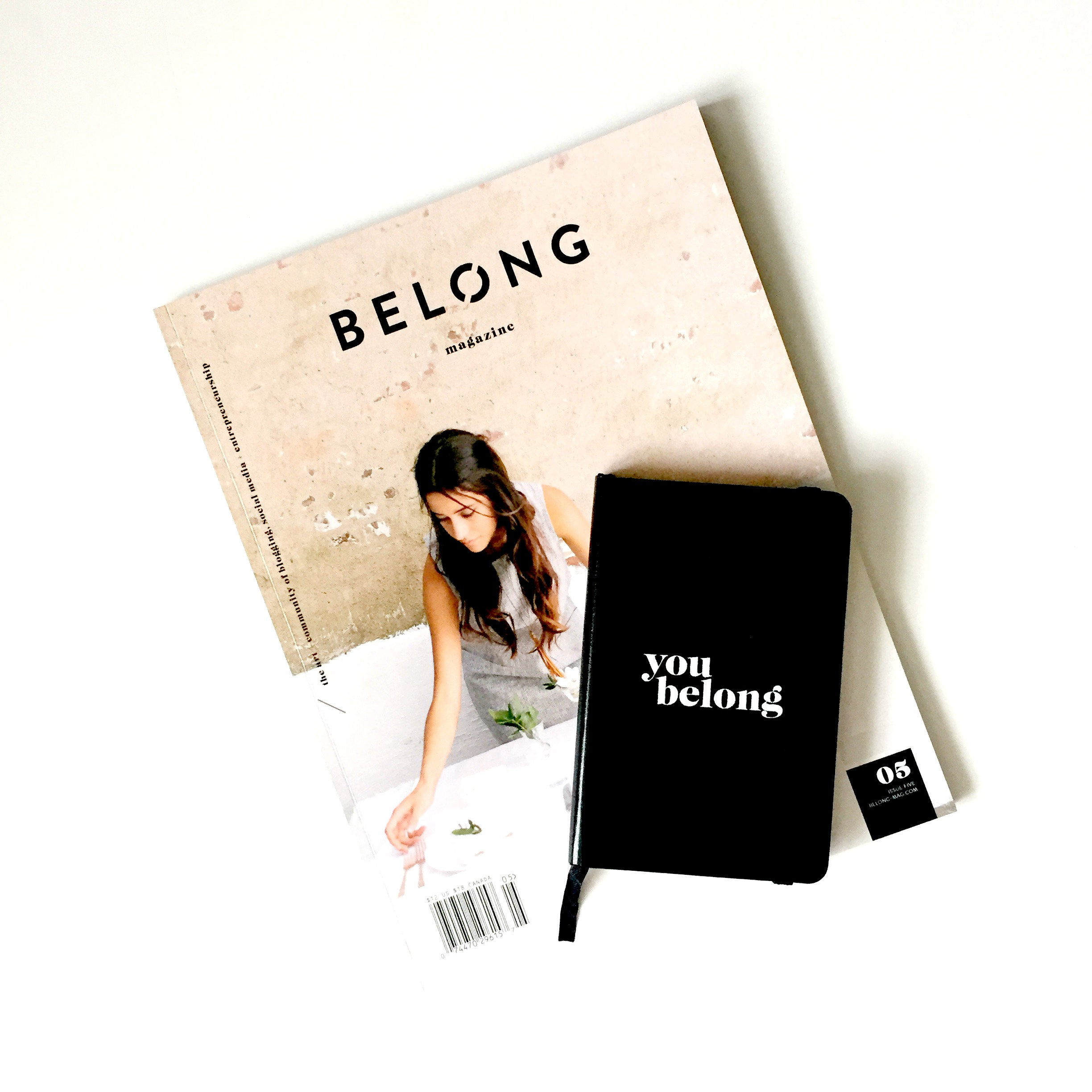 belong magazine / issue 05 / you belong notebook / belong magazine blog