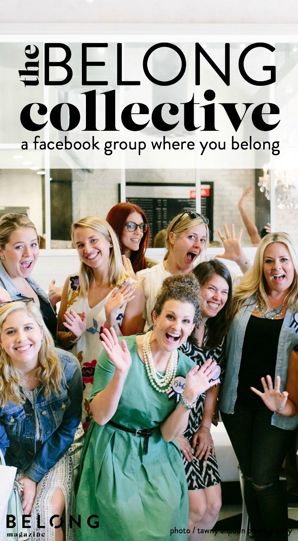 the belong collective facebook group / belong magazine
