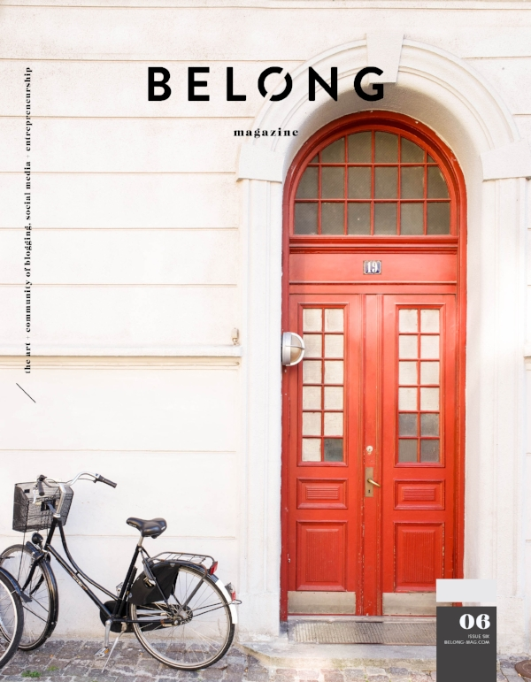 Belong Magazine ISSUE 06 - The Thresholds Issue