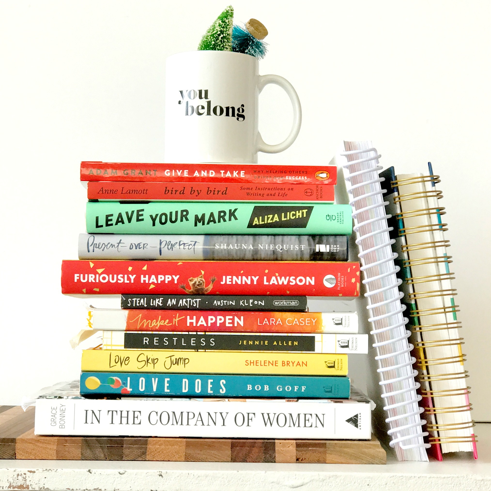 books to build a year on - belong magazine blog