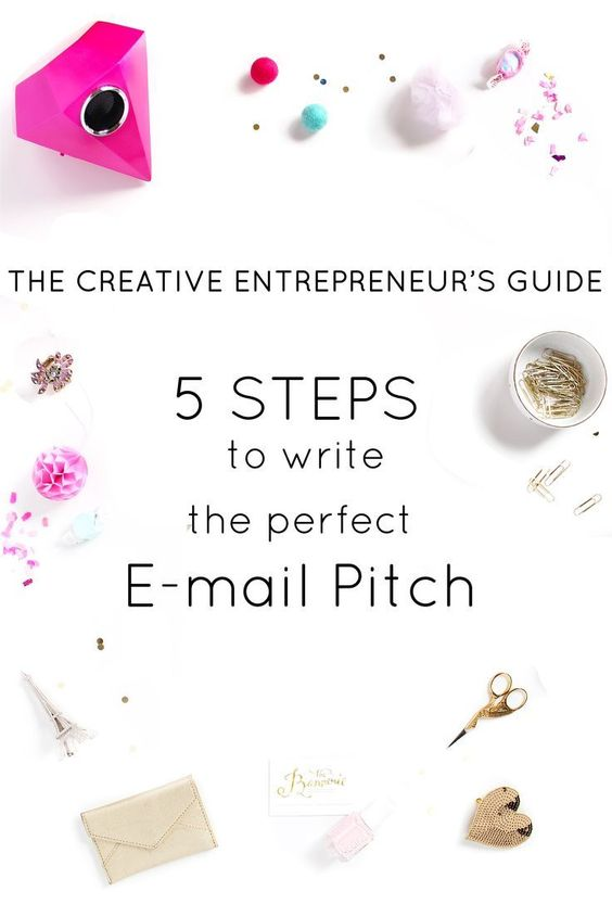 belong magazine blog favorite pin - 5 steps to write the perfect email pitch for female creative entrepreneurs