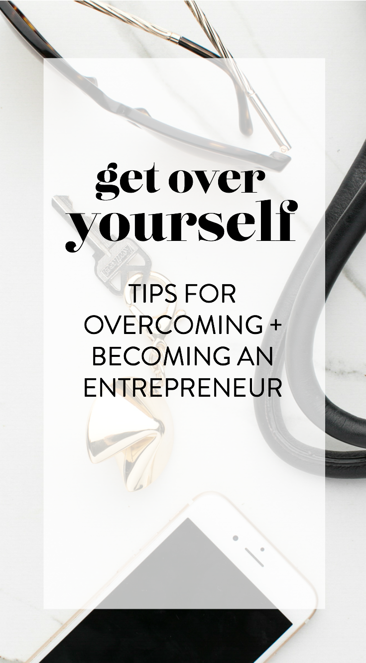 get over yourself - tips for overcoming and becoming an entrepreneur with jordan corcoran as featured in Belong Magazine ISSUE 08