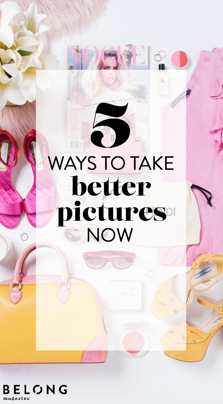 5 ways to take better pictures now with connie chan of what she pictures as featured in Belong Magazine ISSUE 09