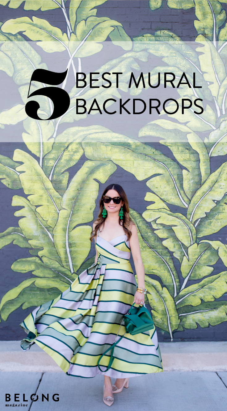 5 best mural backdrops with Jennifer Lake of Style Charade as featured in Belong Magazine ISSUE 09