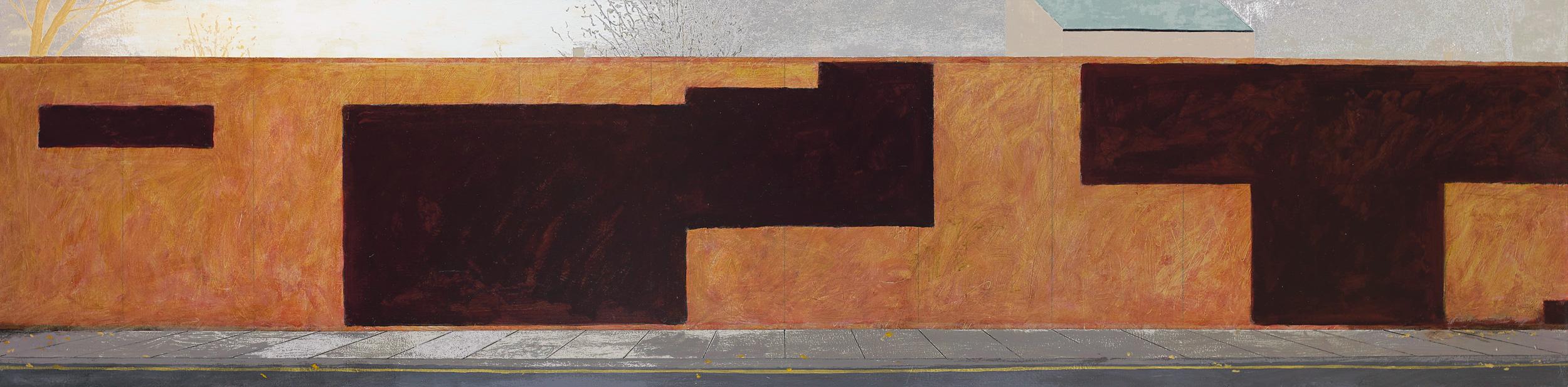 Richard Serra in Southampton Way, Peckham