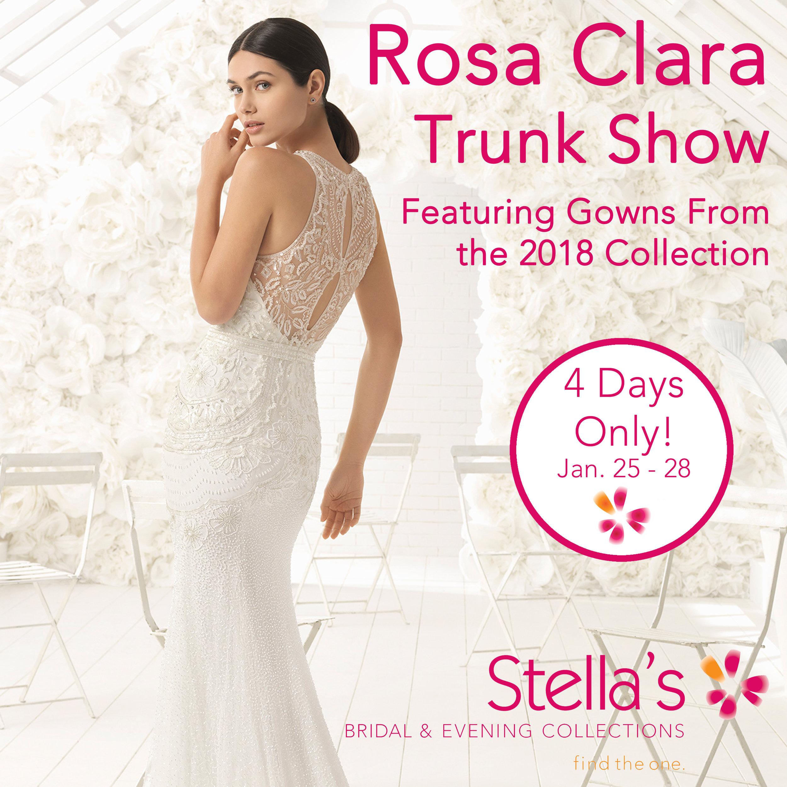 Rosa Clara Trunk Show - Winnipeg Wedding Dresses