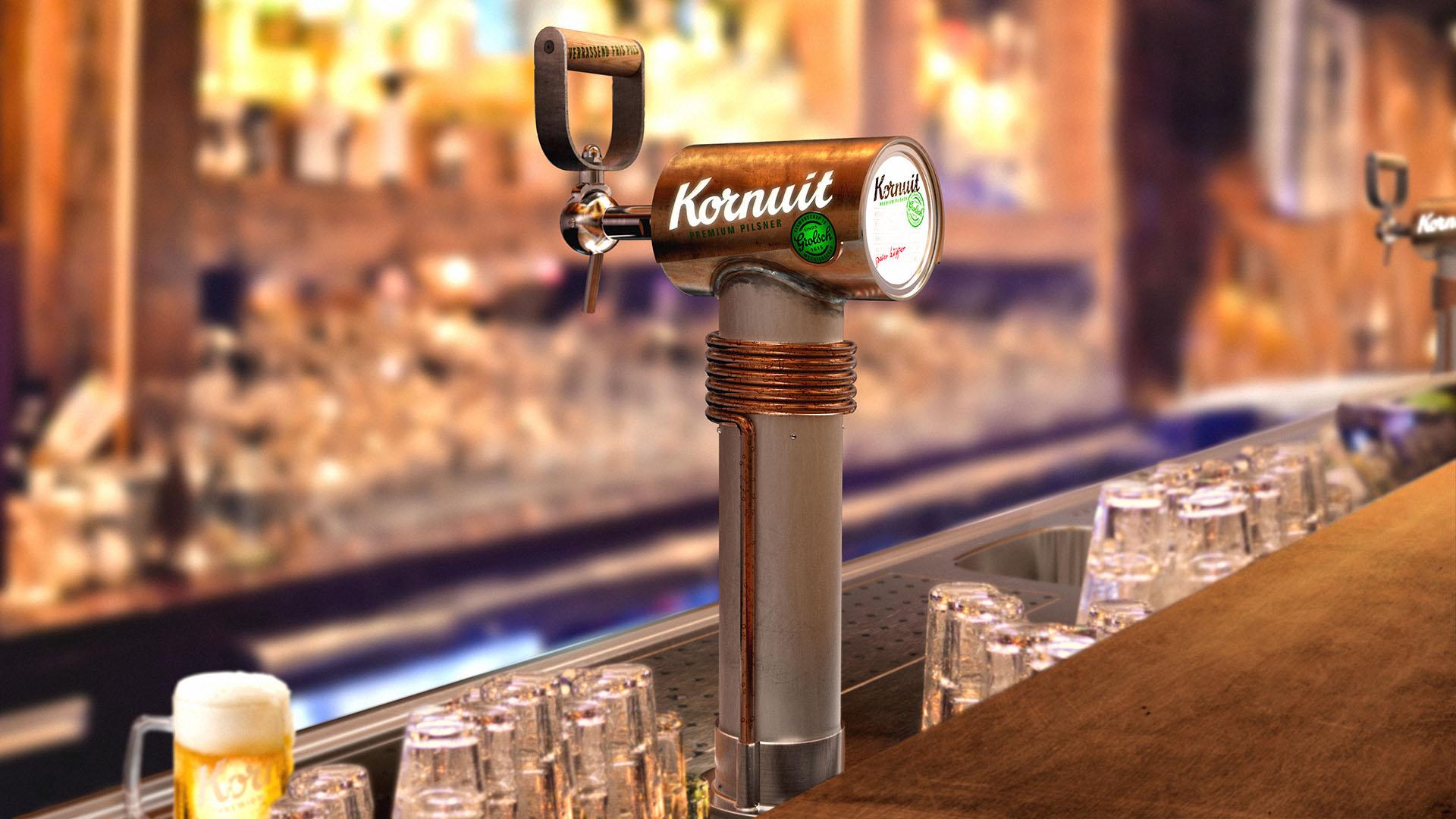 Kornuit Beer Tower Design