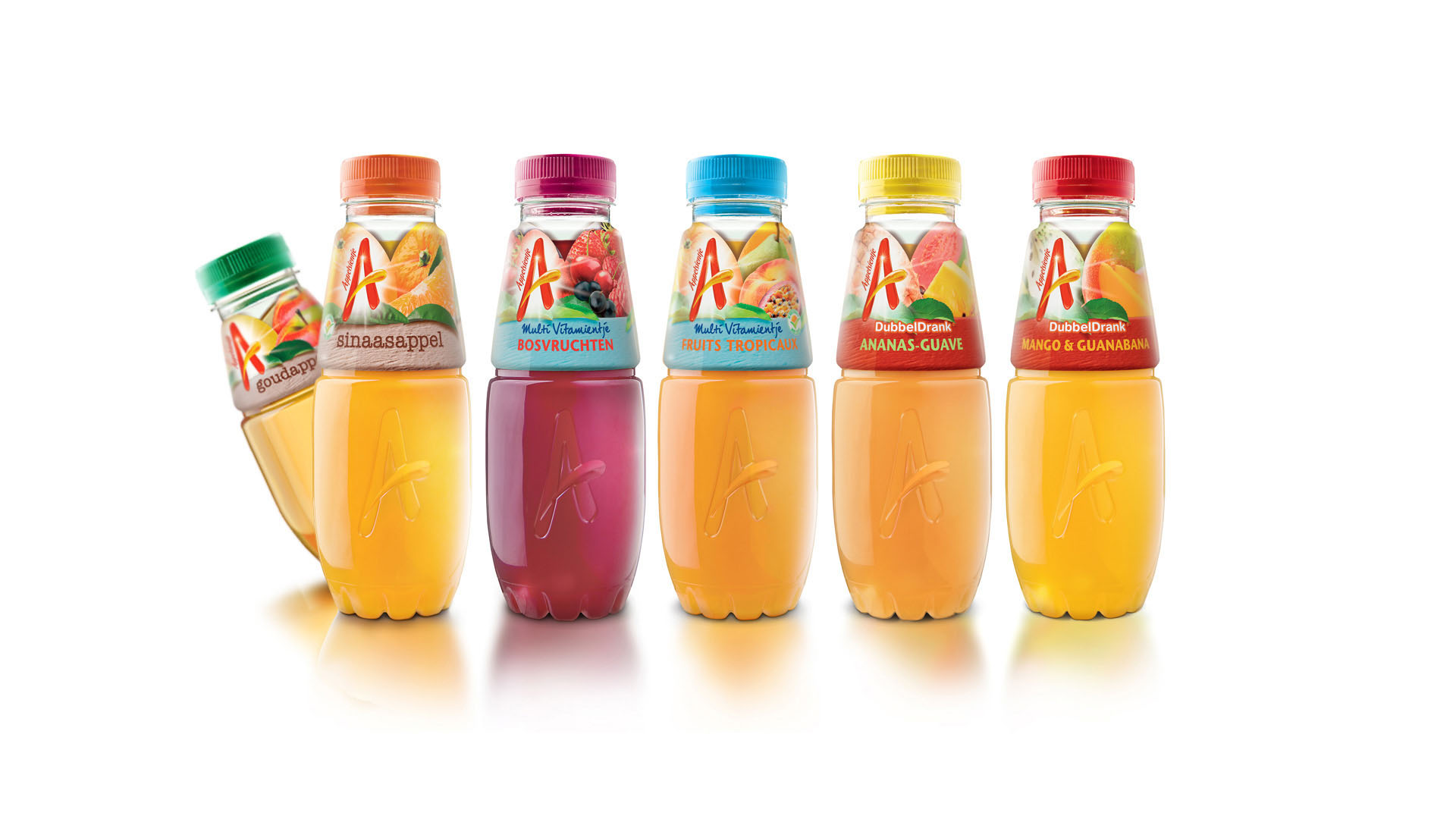 Appelsientje Juice Bottle Design