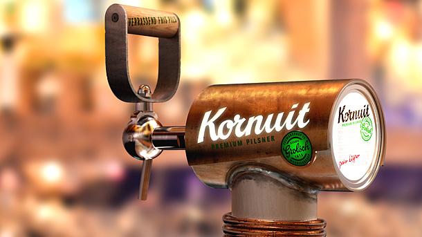 Kornuit  || Beer Draft Tower & Handle