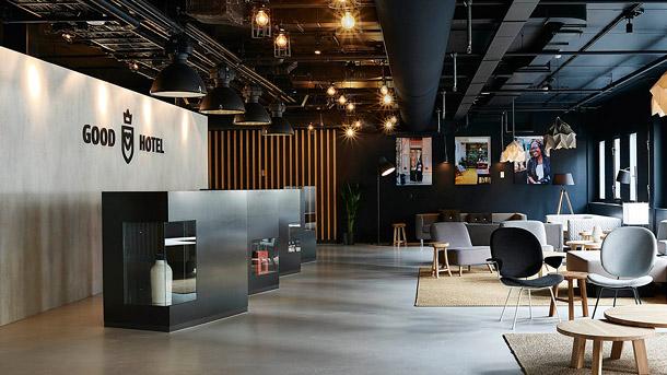 Good Hotel Amsterdam / London Interior  || Public Spaces | Interior Design