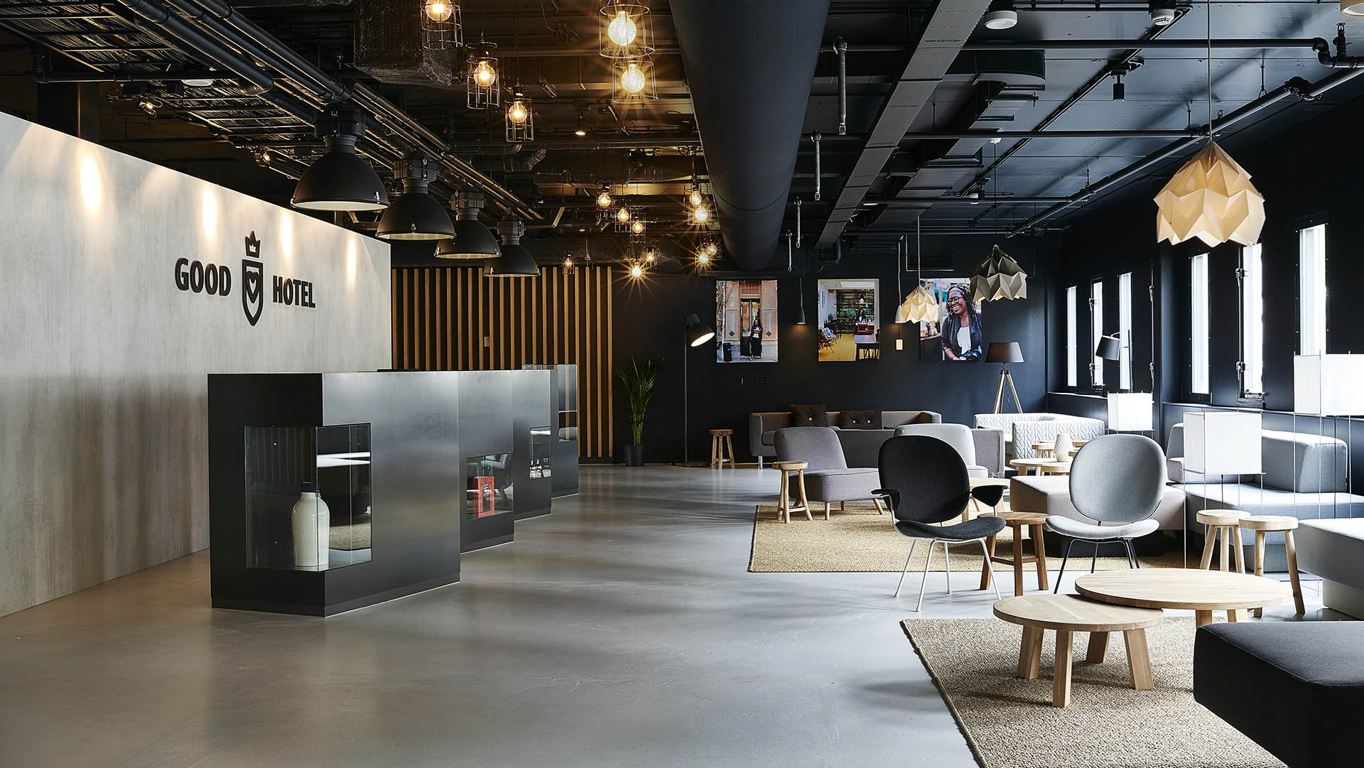 Good Hotel Amsterdam / London || Interior Design, Public Spaces