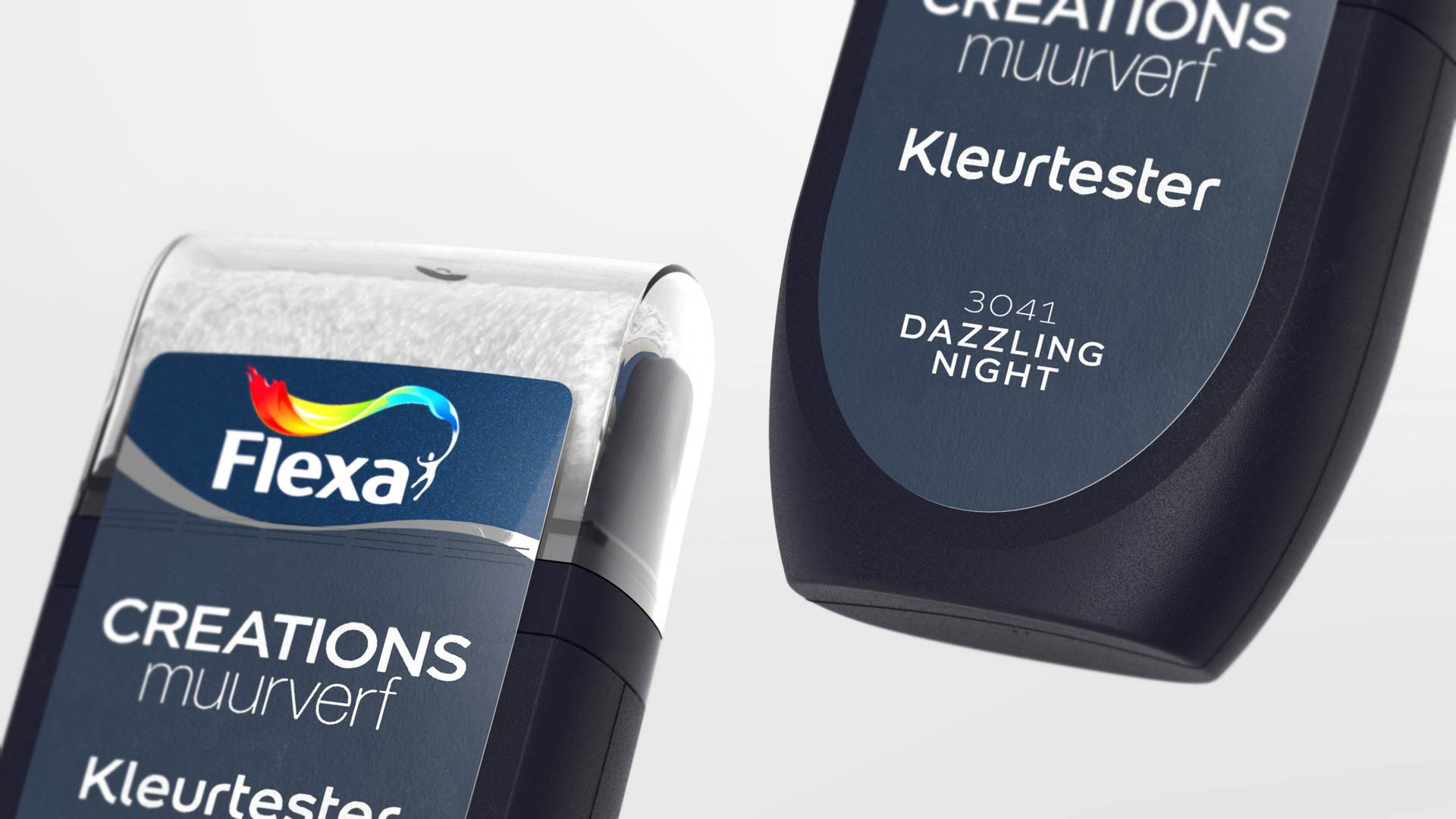 AkzoNobel / Dulux / Flexa  || Paint Colour Tester Design