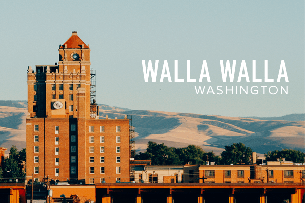 Walla Walla Washington