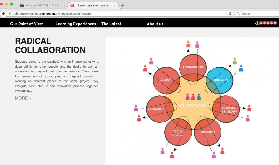 Radical Collaboration- Image by Hasso Plattner Institute of Design