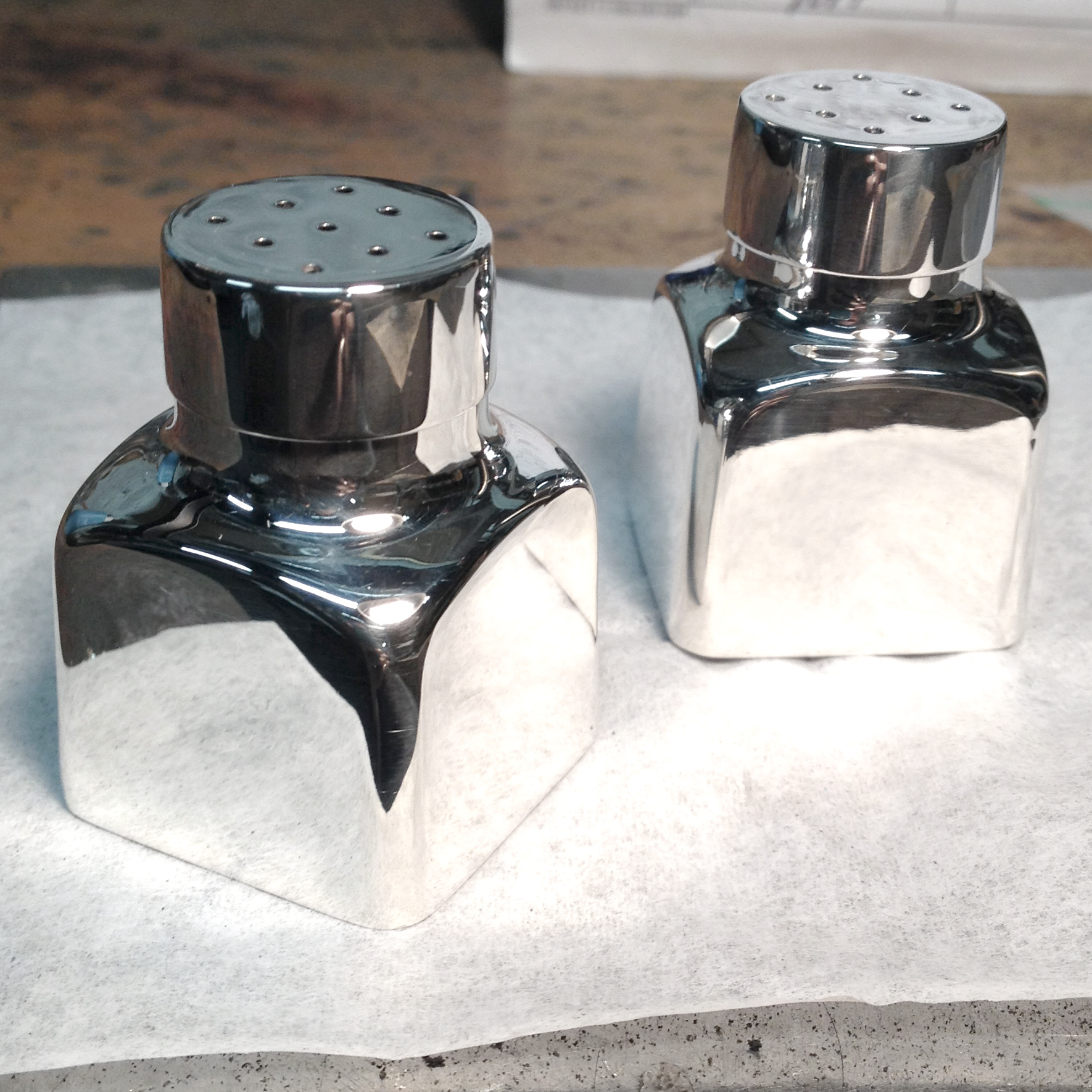 Salt and Pepper Shakers - After