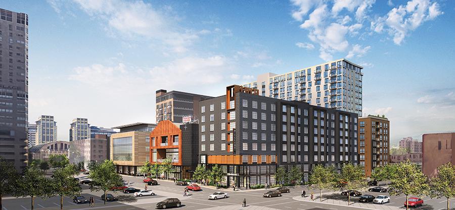 Elliot Park Hotel Rendering – Minneapolis, MN
