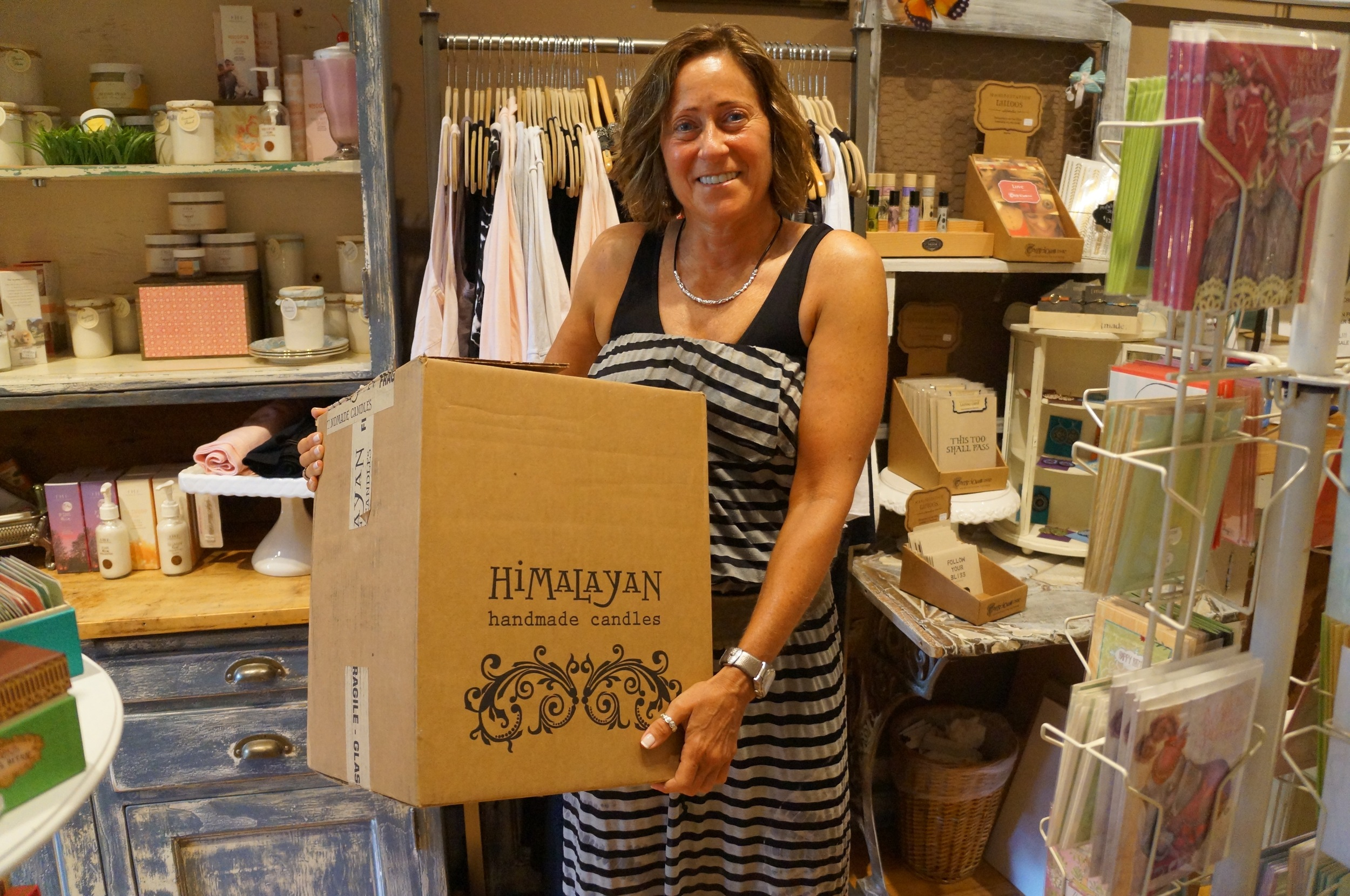 Thank you to Vicki (and Randi) of Randoon for donating a box of clothes!