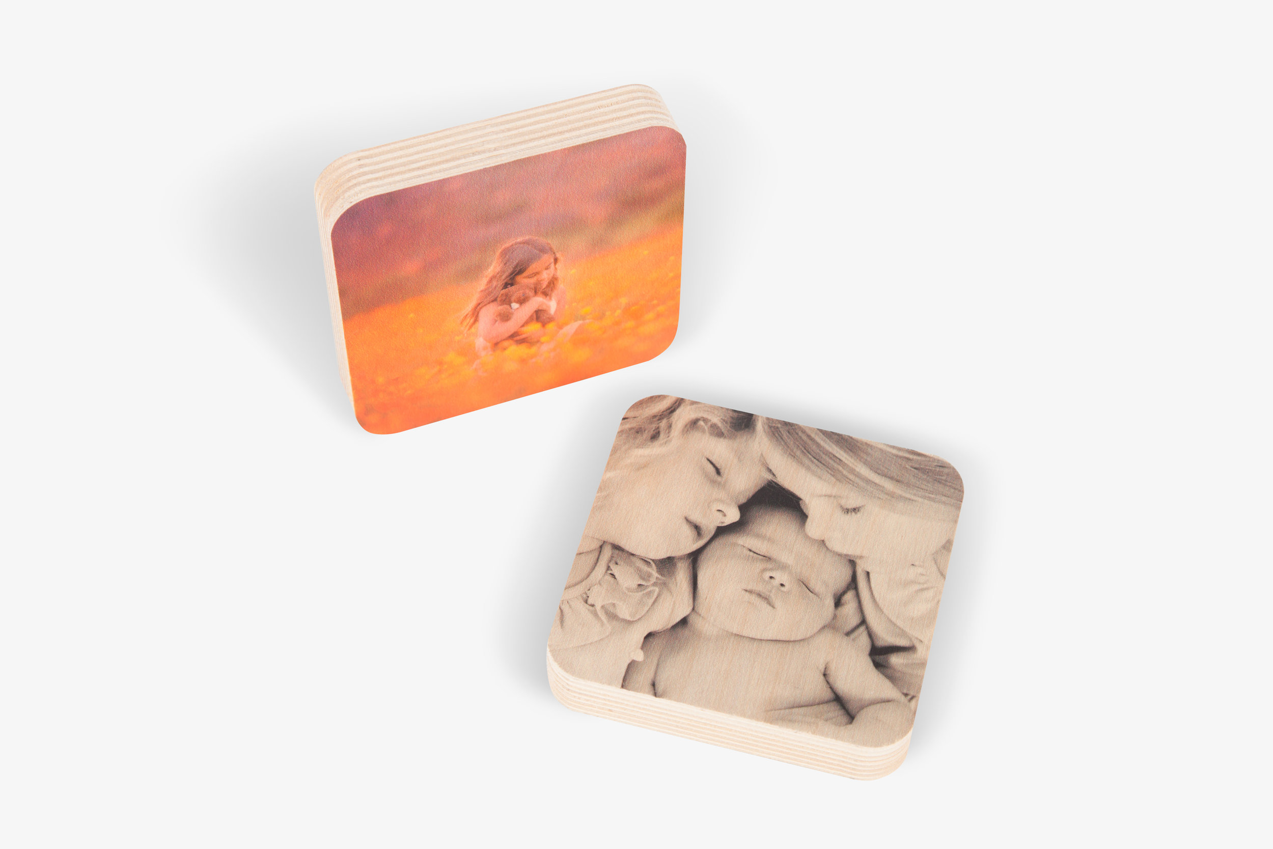 Wood Photo Squares *Out of Stock