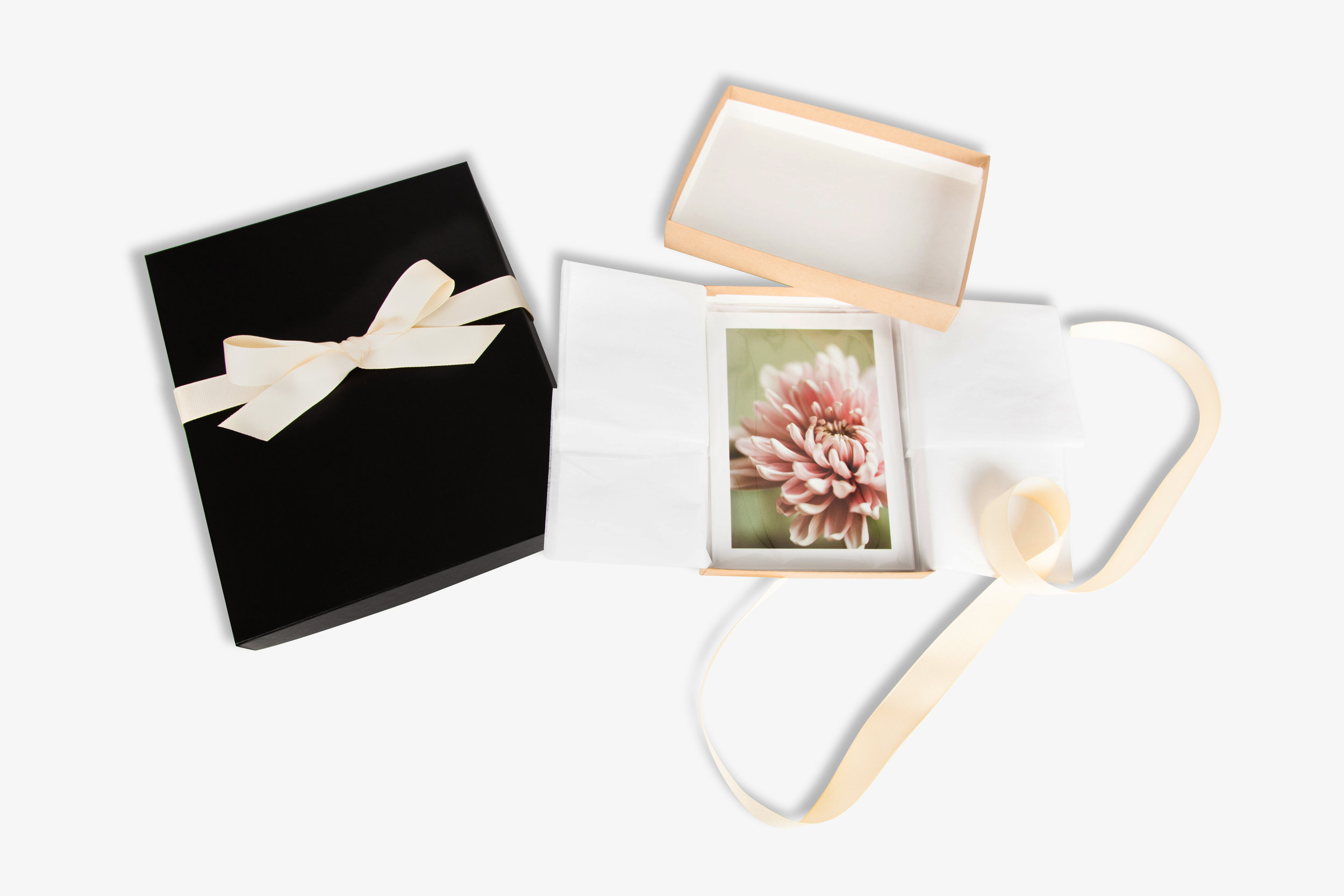 Boutique Photo Print Packaging