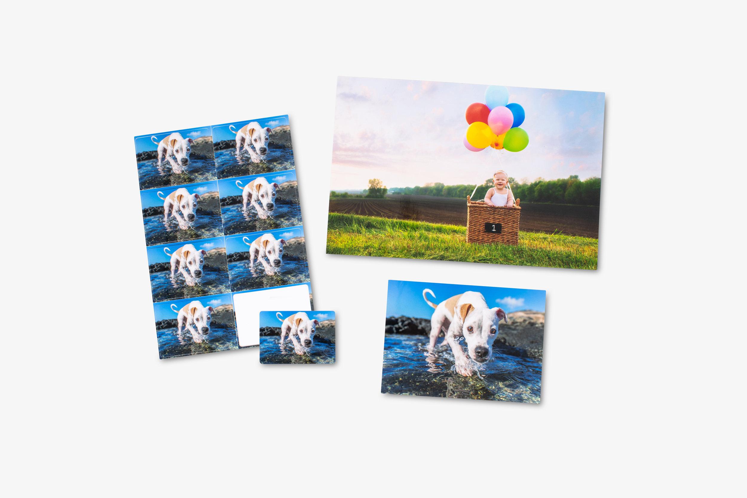 Fuji Professional Metallic Pearl Photo Prints