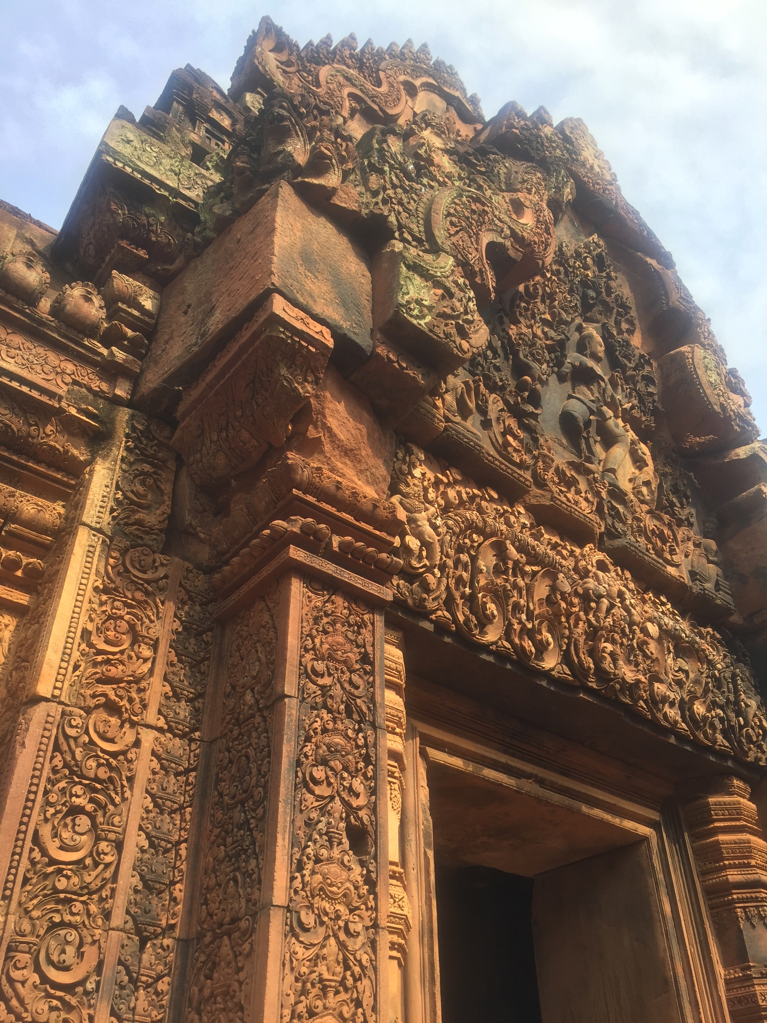 Banteay Srei Temple - 10th Century AD Hindu temple dedicated to the the deity Shiva. The carvings at this site are incredibly well preserved.