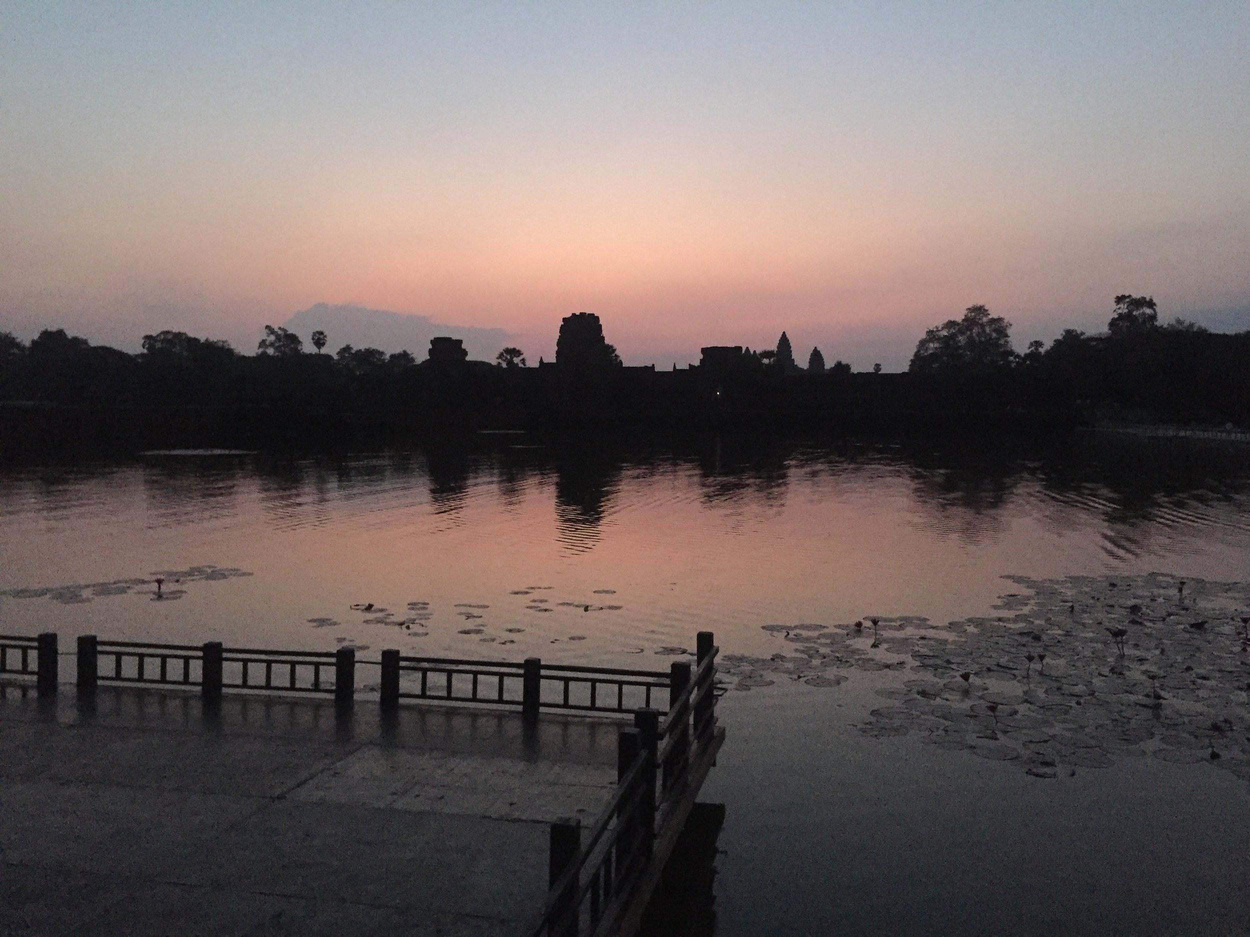Angkor Wat - Pre-sunrise