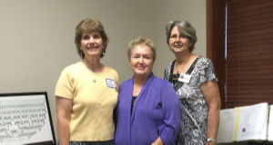 Seminar Instructors: Lori Zeiler, Claudia Mesarosh and Rosemary Easler
