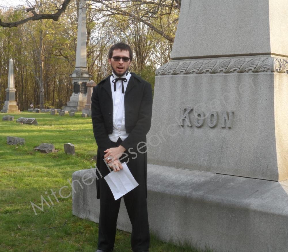 Ezra Koon protrayed by Mike Ziems