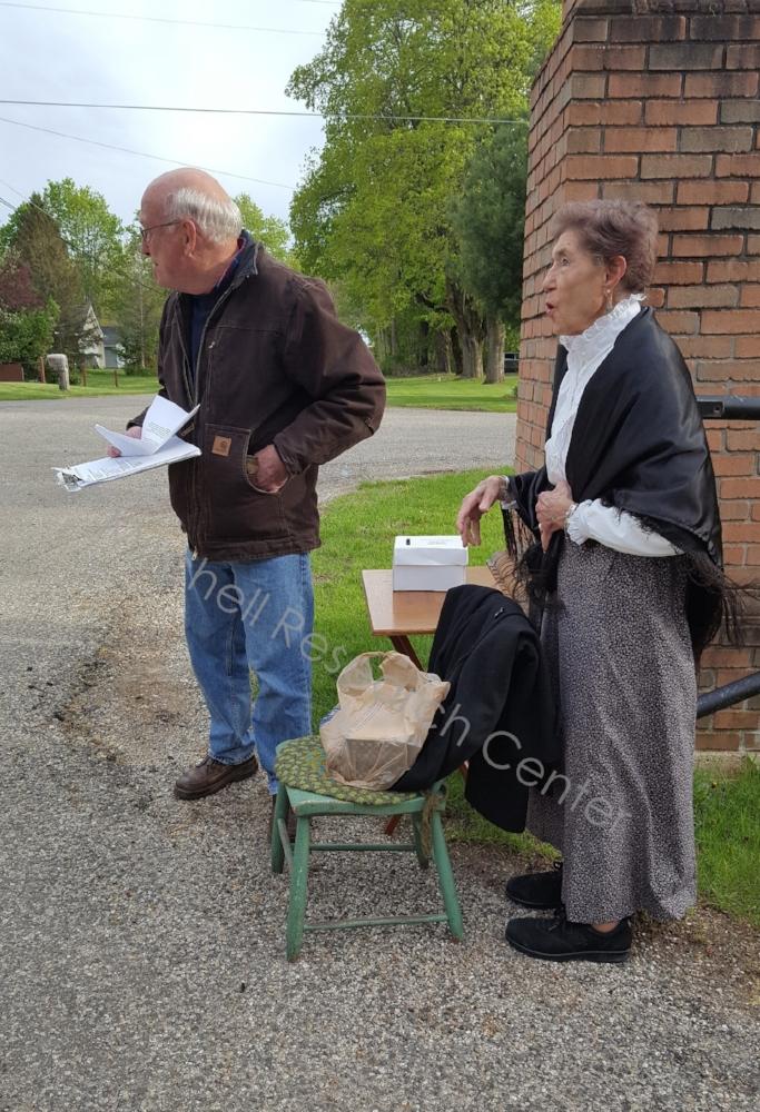 Bob Sawyer & Sally Fallon Hillsdale Historical Society
