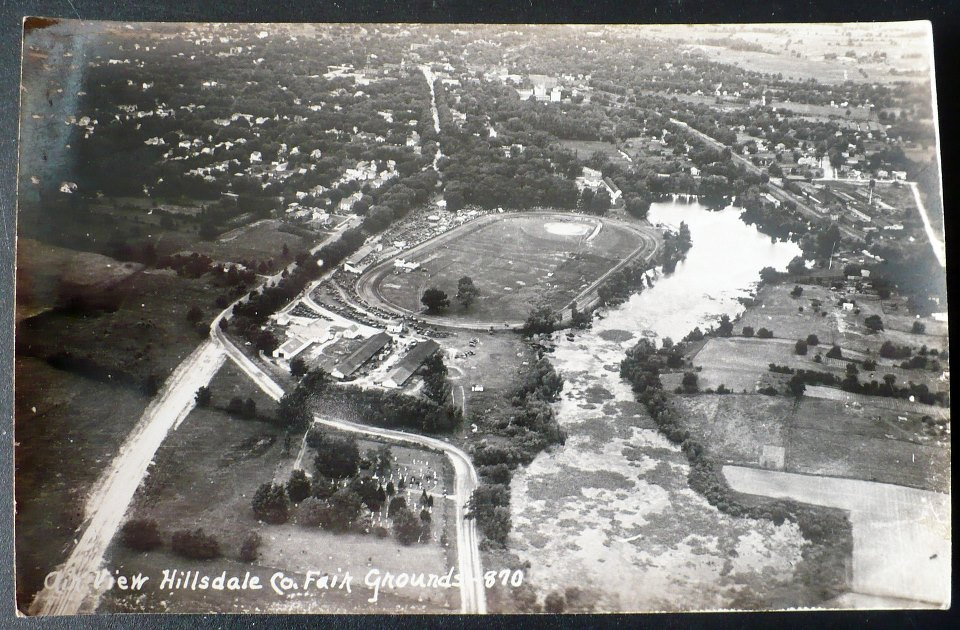 1940's Arial View of Fairgrounds