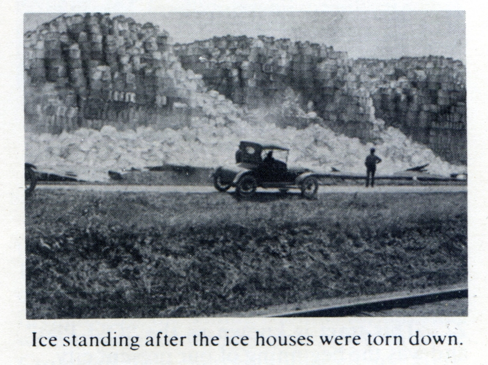 Left over Ice