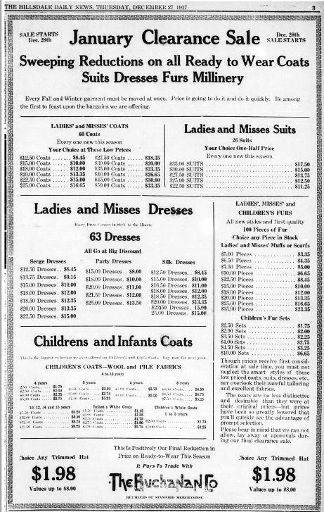 January Deals HDN Dec 27 1917