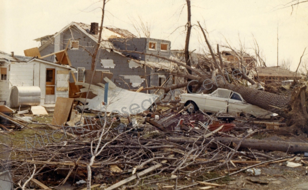 1965 Tornado Destruction Lake Baw Beese