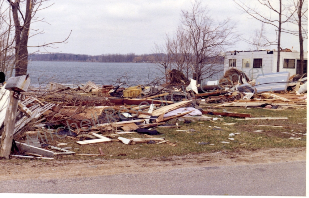 House Totally Destroyed April 11 1965 Ash-Te-Wette
