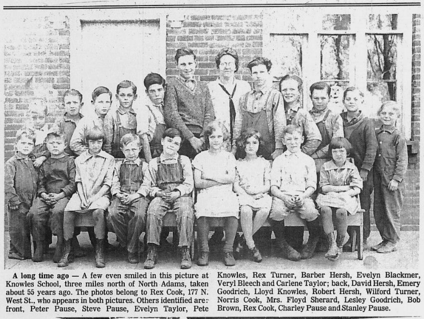 Knowles School 1928 Mitchell Research Center School Files