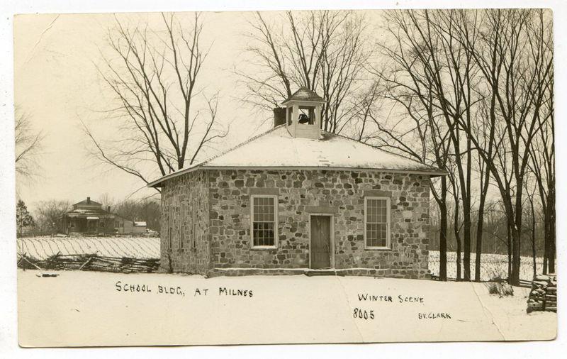 Milnes School in Winter
