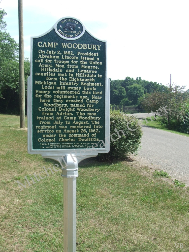 Camp Woodbury Lewis Emery Park, State Road Hillsdale Township