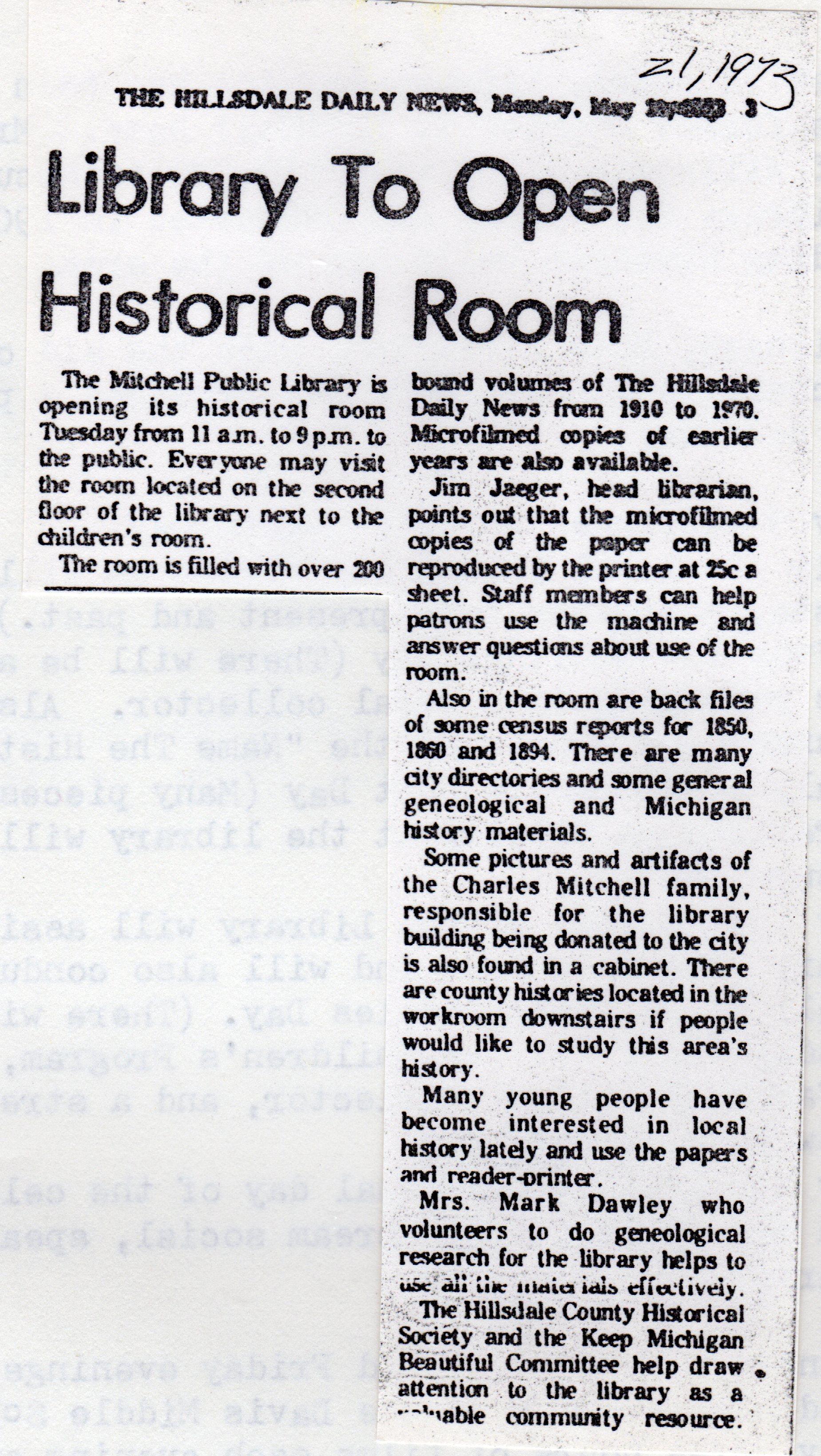 Historical Room Opens 5-21-1973.jpg