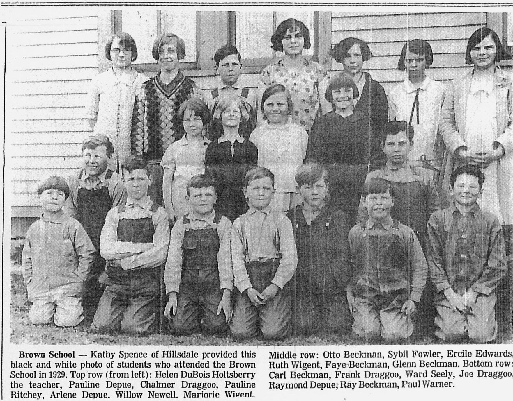 Brown School 1929 HDN