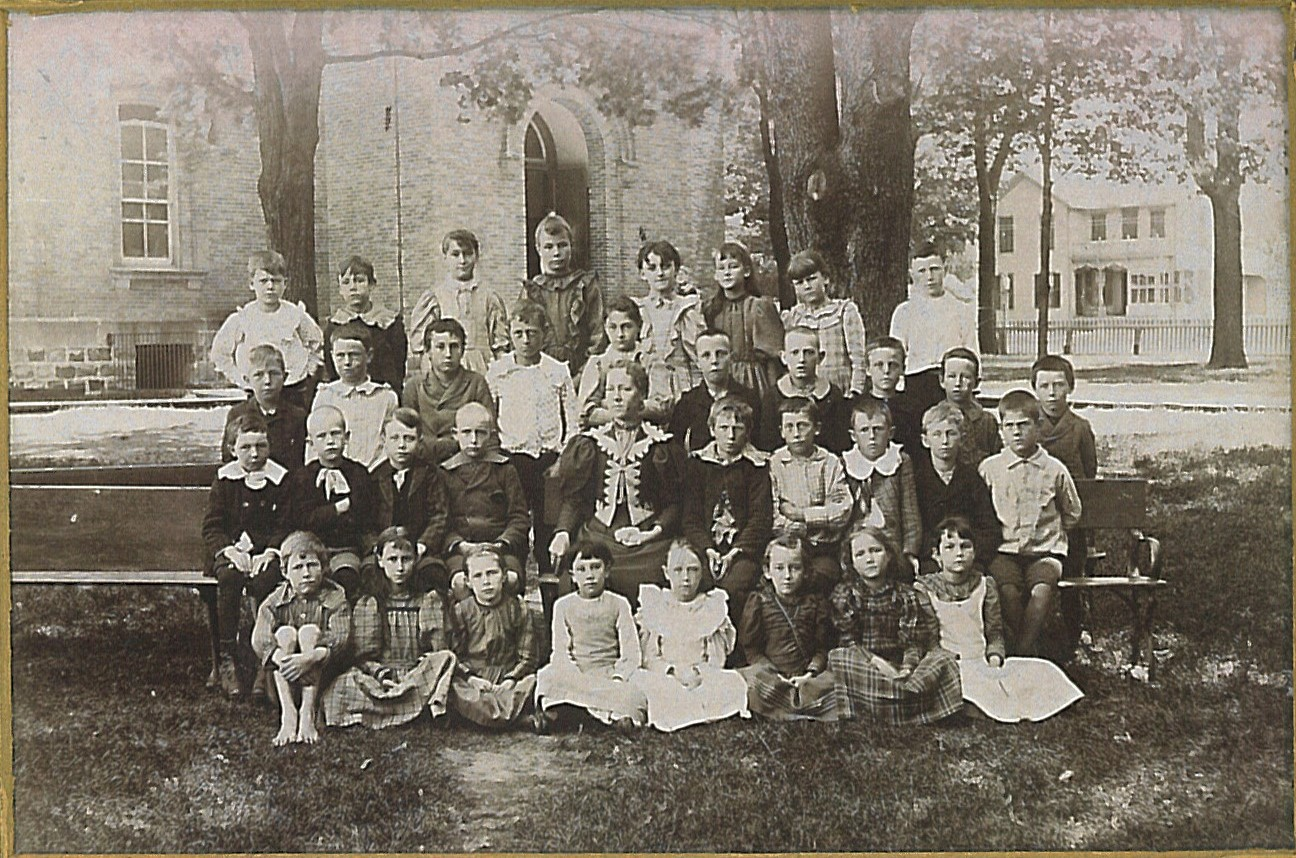 1895 Jonesville 3rd & 4th Grade  Teacher Grace Eggleston
