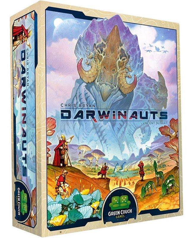 My newest game Darwinauts is live on Kickstarter! Check it out, link in bio